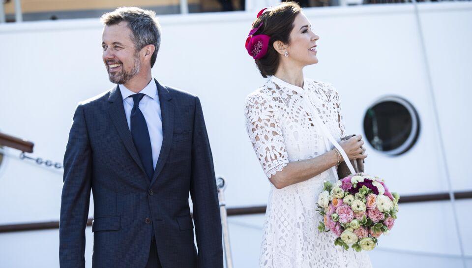 Det var et hårdt program, da Kronprins Frederik og kronprinsesse