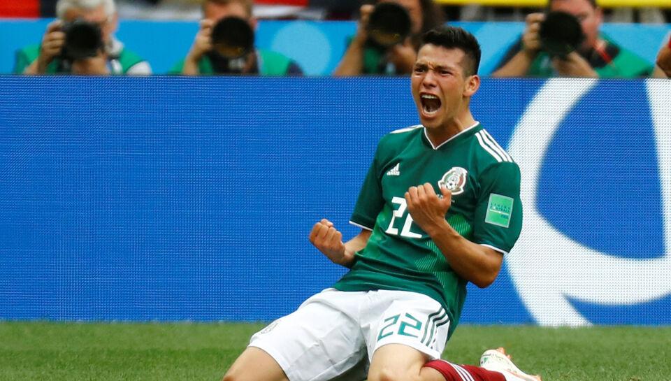 Moskva. Mexico fik søndag en fremragende begyndelse på VM i