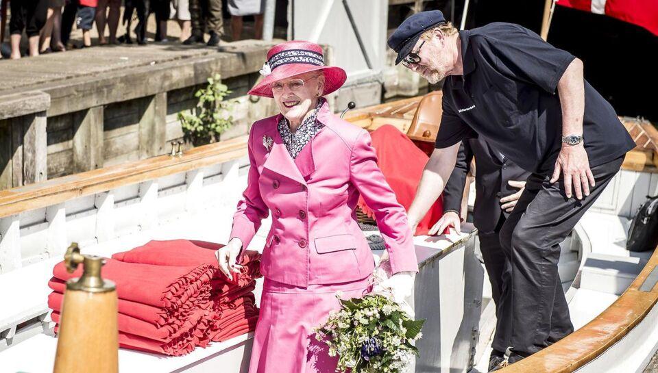 Dronning Margrethe har aflyst et besøg i Aarhus på mandag