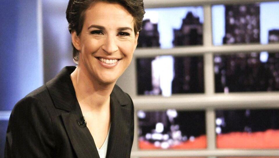 Den amerikanske tv-journalist Rachel Maddow brød sammen, mens hun fortalte