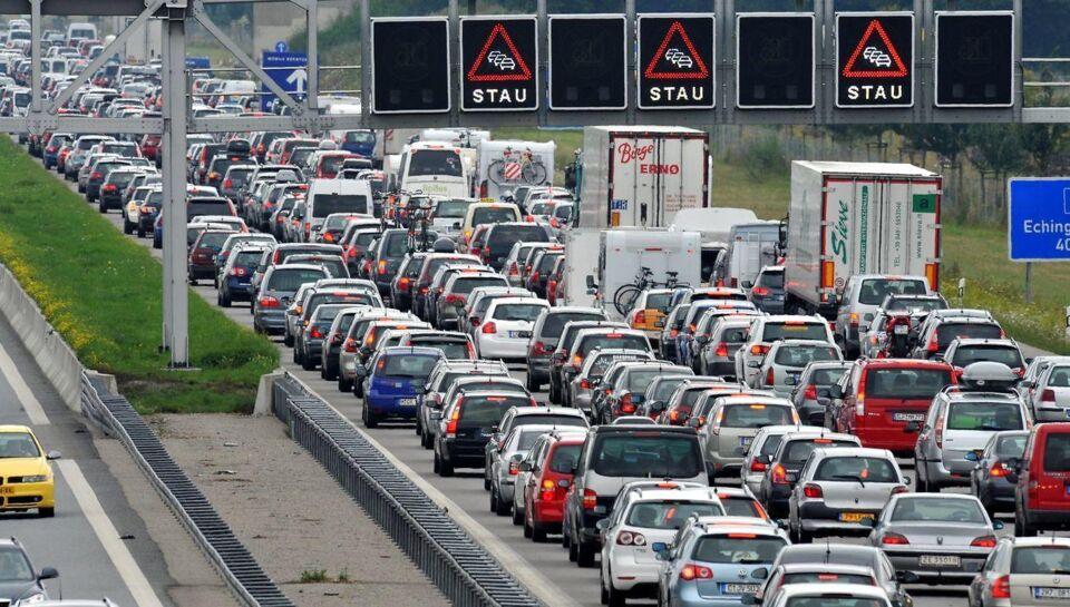 I år bliver der kø på de tyske motorveje... Synes
