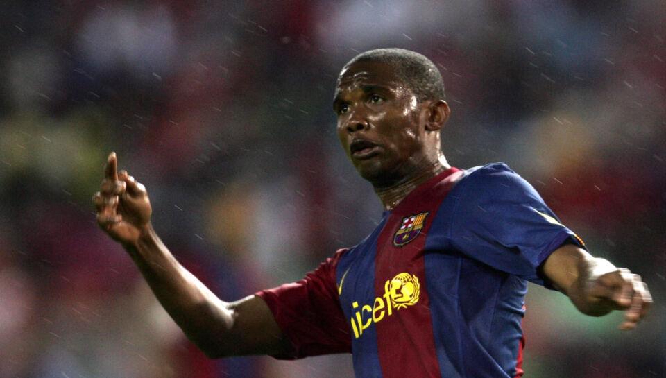 Doha. Den tidligere FC Barcelona-angriber Samuel Eto'o skifter til fodboldklubben