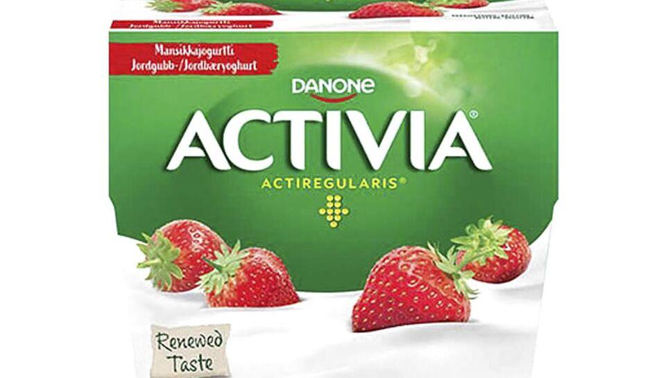 Danone Danmark tilbagekalder Activia jordbæryoghurt, da der kan være røde