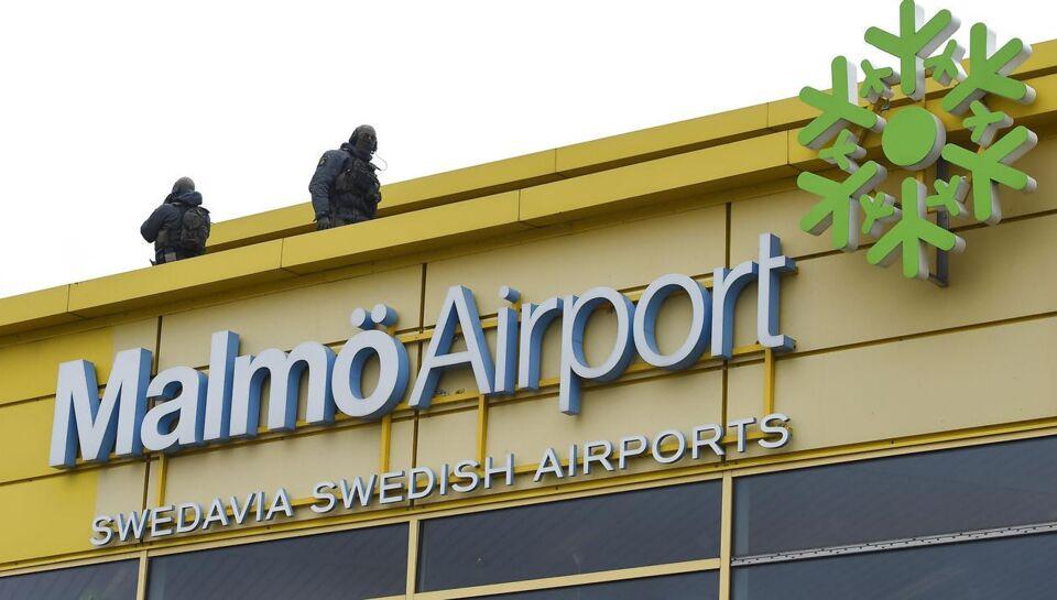 Malmö Lufthavn blev torsdag morgen evakueret, og politiets bomberydningstjeneste sendt