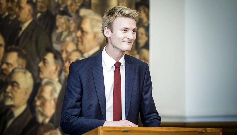 En af østeuropæernes største fjender, Dansk Folkepatis retsordfører Peter Kofod