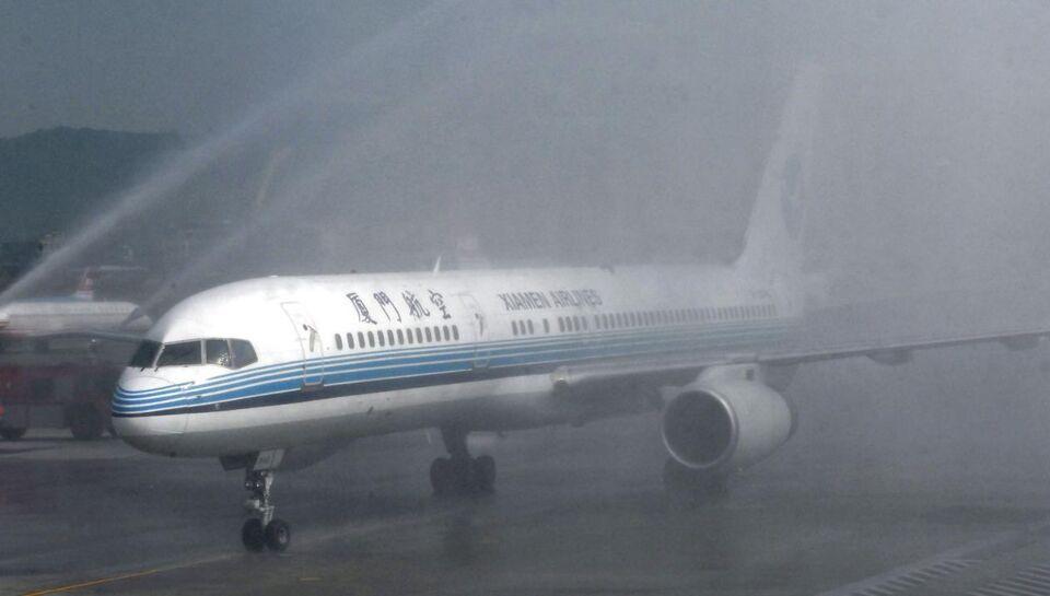 Et kinesisk fly nødlandede 17.55 dansk tid i Manila International