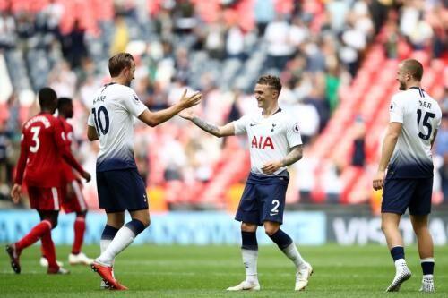 I et underholdende London-opgør vandt Tottenham 3-0 over Fulham. Lucas