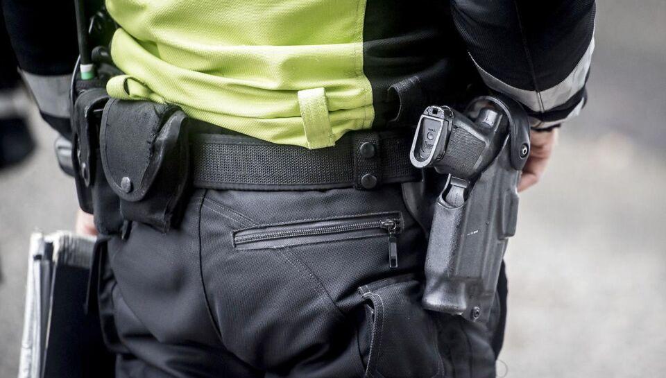 Klokken lidt over fire natten til søndag har politiet trukket