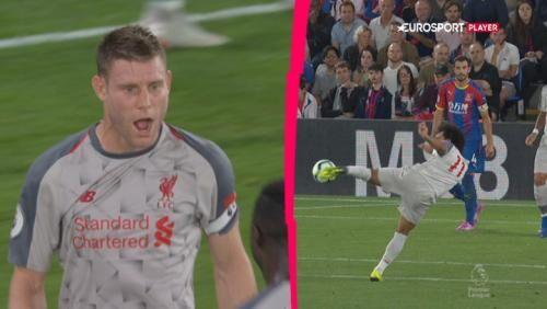 Liverpool vandt aftenens udekamp mod Crystal Palace med 2-0 på