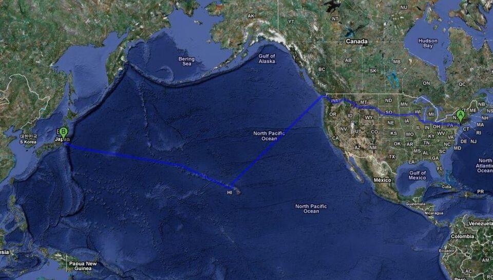 Google Er Gaet Fra Forstanden Tag Kajak Over Stillehavet Bt
