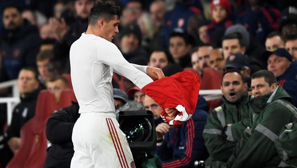 Xhaka vil kæmpe sig tilbage for Arsenal efter nedsmeltning