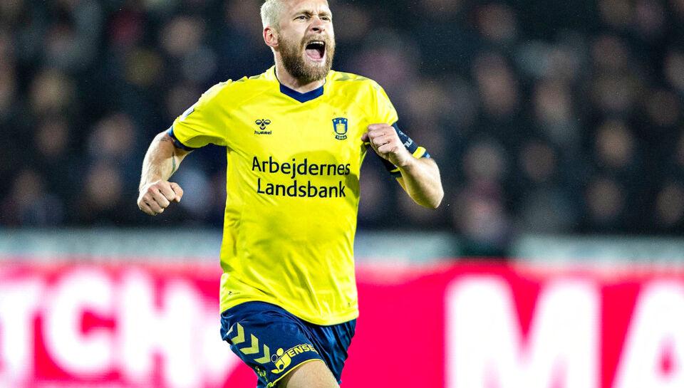 Larsson er færdig i Brøndby