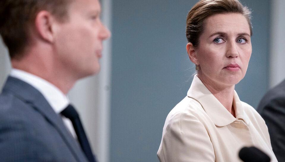 Statsminister Mette Frederiksen: Fuld grænseåbning har meget lange udsigter