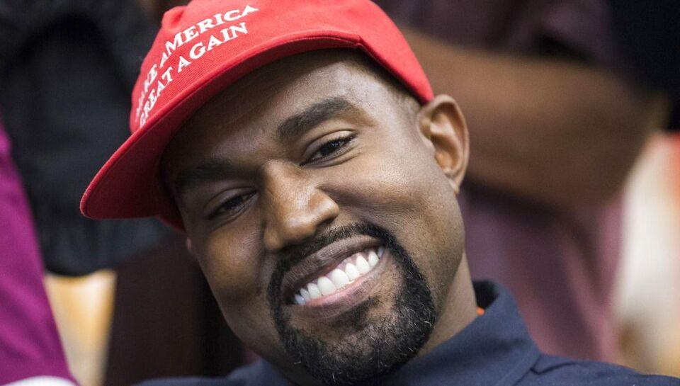 Kanye West stiller op som præsident