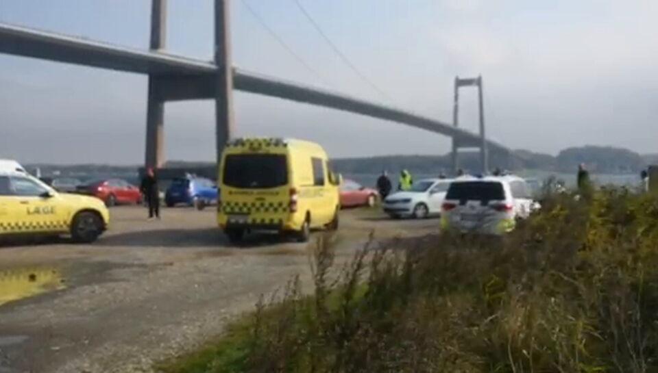 18 personer involveret i drama ved Lillebælt