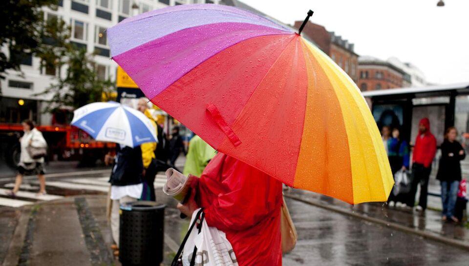 Sol, skyer og regn: Nu vender efterårsvejret tilbage