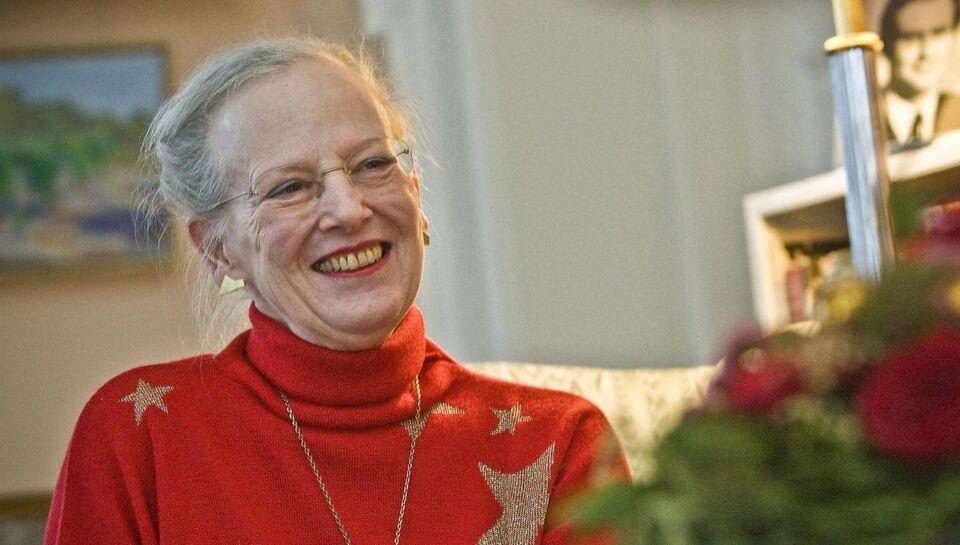 Dronningen: Skal holde jul med Joachim i år...