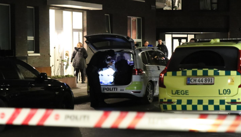 Knivstikkeri i Valby: Person kørt til hospitalet