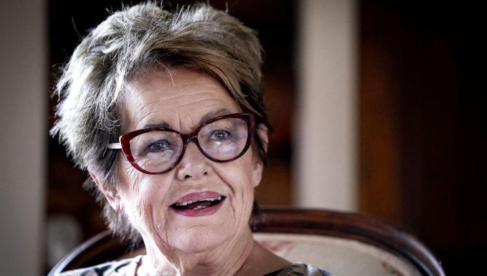 Ghita Nørby amok på live-tv: 'Lad være med alle de der idiotiske spørgsmål!'