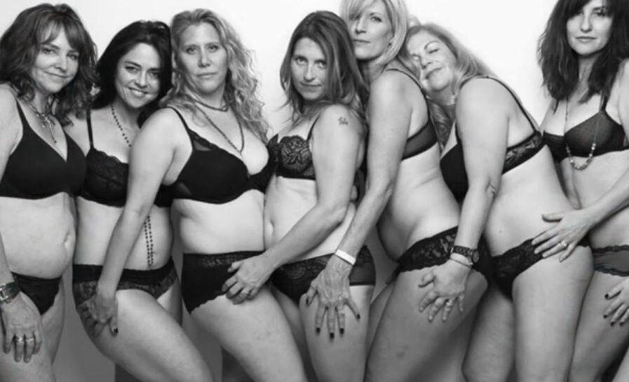 frodige kvinder naturlig behåring