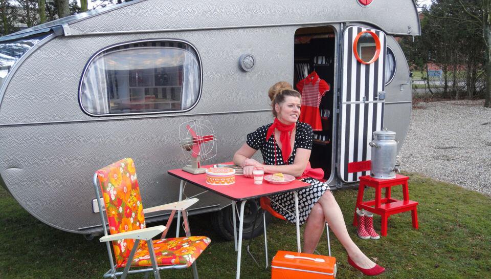 T jdesigner giver gamle campingvogne nyt liv bt bil og for Camping a couture 49